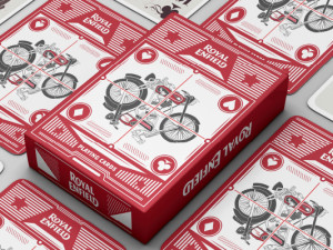 Ilustration for Royal Enfield(Playing Cards)