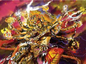 Durga (দশভূজা মা দুর্গা)